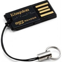 Кардридер Kingston Ultra-Portable USB microSD/SDHC/SDXC (FCR-MRG2)