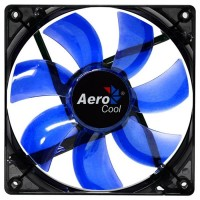 Вентилятор Aerocool Lightning Blue LED Black 120мм