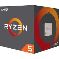 AMD Ryzen 5 2600 (3.4GHz 16MB 65W AM4) Box (YD2600BBAFBOX)