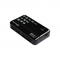 Card reader Grand-X multi All-in-One 64Gb to 2Tb SDXC (CRX05BLACK)