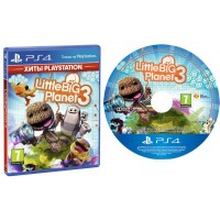 Игра LittleBigPlanet 3 для Sony PlayStation 4, Russian version, Blu-ray (9424871)