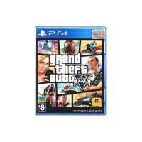 Игра Grand Theft Auto V для Sony PlayStation 4, Russian version, Blu-ray (5417112)